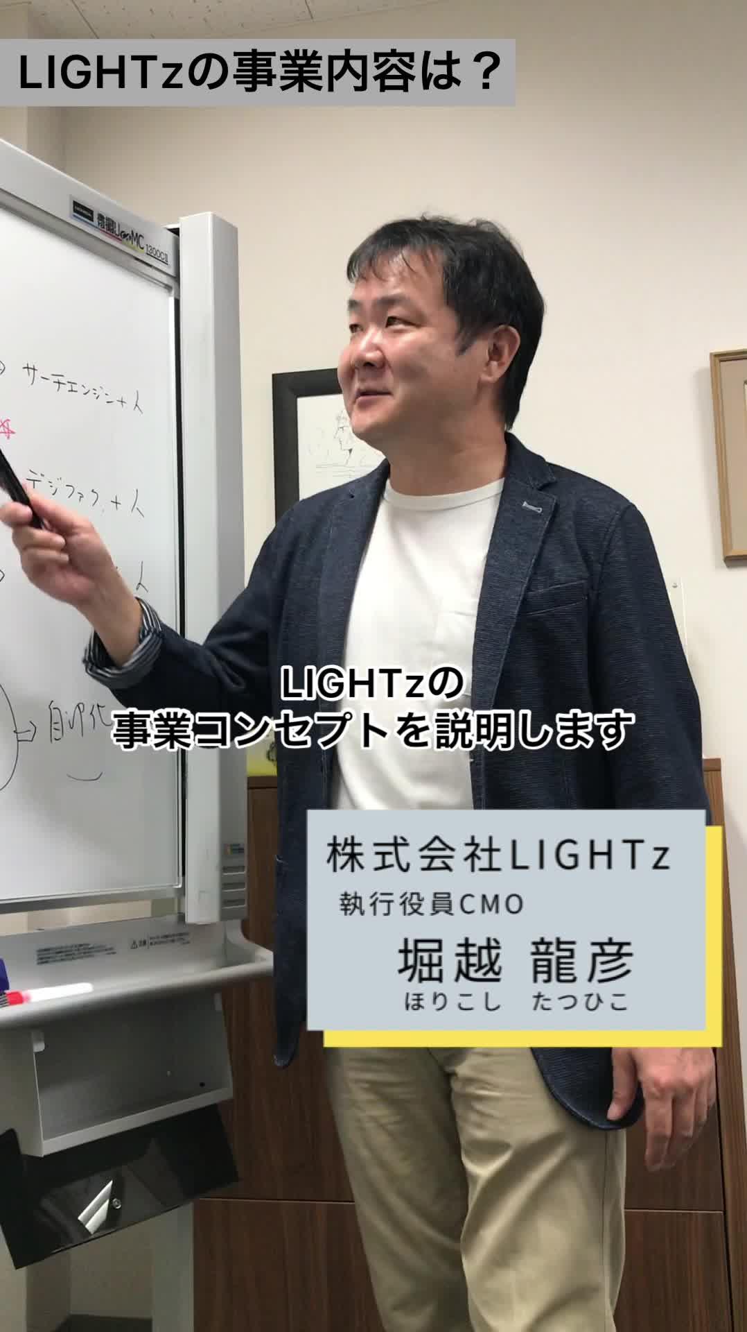 LIGHTzの事業を分かりやすく解説!キーワードは「汎知化」【採用動画】